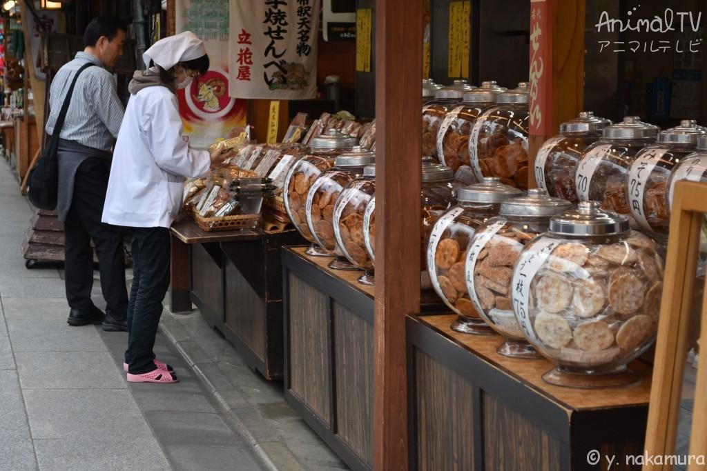 Shibamata of Small town in Tokyo, Japan